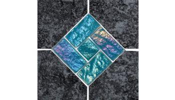 National Pool Tile Aztec Series 6x6 Deco   Cobalt   AZ606 DECO