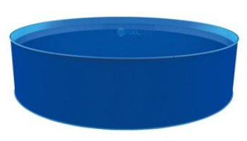 """Blue Wave Cobalt 12' Round Above Ground Pool Package 