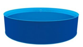 """Blue Wave Cobalt 15' Round Above Ground Pool Package 