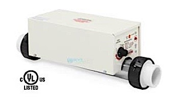 Coates In-Line 1.5kW 120V Electric Heater   1.5ILS