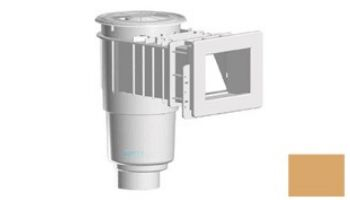 "AquaStar Flow Star Skimmer with Narrow 9"" Deep Throat, Float Assembly, Lid, Adjustable Collar and 4"" Socket Sump for Fiberglass   White   SKRFFL3N101D"