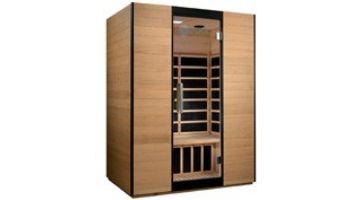Golden Designs Dynamic Valencia 3-Person Ultra-Low EMF FAR Infrared Sauna | Hemlock | DYN-6326-01