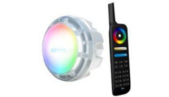 PAL Lighting Evenglow LED Multi-Color Pool & Spa Light Bulb with Remote | 8.5W 120V | 64-PAL-SRL-RGB-120