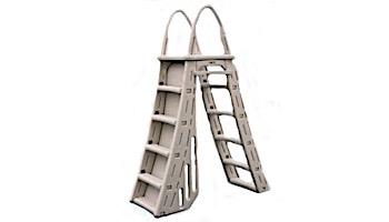 Confer Plastics Roll-Guard A-Frame Safety Ladder with Barrier System | 7200