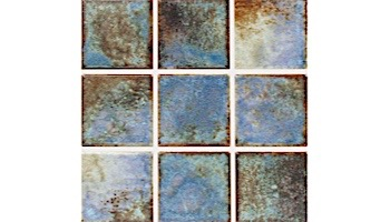 National Pool Tile Martinique Series | Royal Blue 2x2 | MARF235