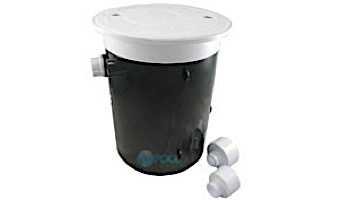 CMP AquaLevel™ Automatic Water Leveler for New Construction Only | Round White Lid & Collar | 25504-100-000