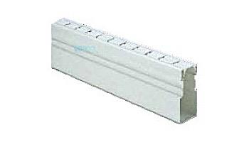 Deck-O-Drain 10' Pool Deck Drainage System | White | 2811011