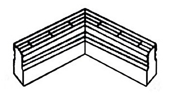 Deck-O-Drain 90 Degree Bend | White | 2812111