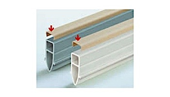 WR Meadows Expansion Joint Renu-Strip White 10' Foot Section | 2715001