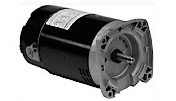 Replacement Square Flange Pool & Spa 2-Speed Motor | 1HP Full-Rated/1.5HP Up-Rated | 56-Frame Energy Efficient | 230V | R0479307 | B982 | EB982 | ASB2982
