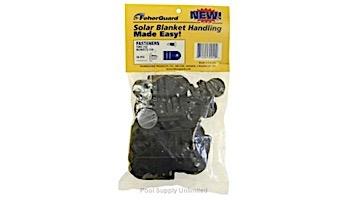 Feherguard Tube & Blanket Black Fastener | Set of 10 | FG-PFS