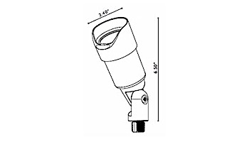 FX Luminaire | SpuntareIntimo®  Sedona Brown | Less Lamp | SI-20-GS-SB | 220827