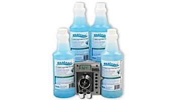 Heatsavr Liquid Solar Heating Blanket Kit   Automatic Metering System & Four 1-Liter Bottles of HeatSavr   HS140