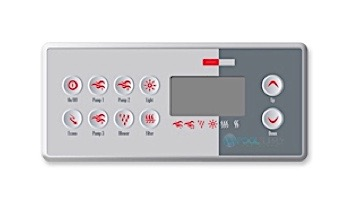 Gecko TSC-8-10K-GE1 AND OVERLAY Keypad | BDLTSC810K