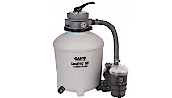 GAME SandPro 75D Above Ground Pool Sand Filter System | .75HP | 4711