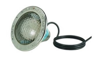 Pentair Amerlite Pool Light for Inground Pools with Stainless Steel Facering   400W 120V 50' Cord   EC-602127