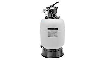 "Hayward Pro Series Top Mount Sand Filter 18"" Tank Includes Top Mount 1.5"" Threaded Vari-Flo Valve | W3S180T"