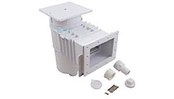 """Hayward Skimmer for Vinyl or Fiberglass Pools with Square Lid 2"""" Threaded Ports 