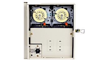 Intermatic Multi Circuit Freeze Protection Dual Timer | Control Center & Panel 240V | PF1202T