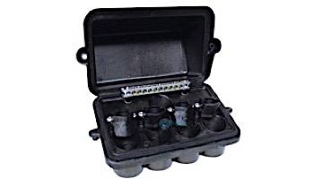 Intermatic Pool Spa Weatherproof Light Junction Box   4 Lights Cap   PJB4175