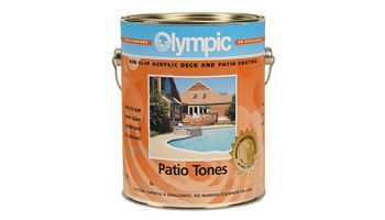 Olympic Patio Tones Water Based Deck Coating   1-Gallon   Warm Biscuit   478W G