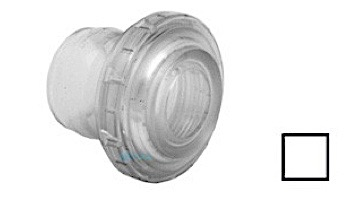 "AquaStar Three-Piece Directional Eyeball Fittings | 1-1/2"" Knock-In | White | 4101"