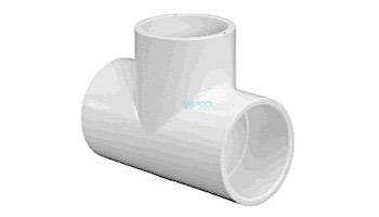 "Lasco 2"" Schedule 40 PVC Slip Tee SlipxSlipxSlip   401-020"