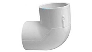 "Lasco .5"" Schedule 40 PVC 90° Elbow SlipxSlip   406-005"
