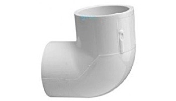 "Lasco 2"" Schedule 40 PVC 90° Elbow SlipxSlip   406-020"