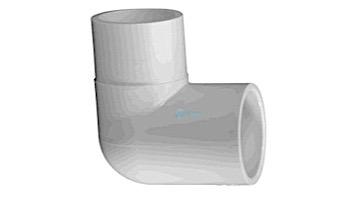 "Lasco 2"" Schedule 40 PVC 90° Street Elbow Slip x Slip   409-020"