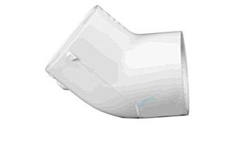 """Lasco 2"""" Schedule 40 PVC 45° Elbow   417-020"""