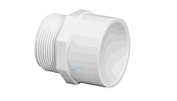 "Lasco 2"" Schedule 40 PVC Male Adapter SlipxMIPT   436-020"