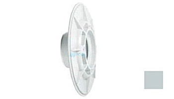 "AquaStar 6"" Sumpless Bulkhead Fitting with 2"" MPT and 1.5"" Slip Socket (VGB Series)   White   620T15S101"