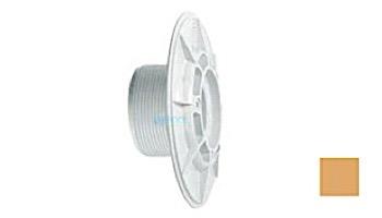 "AquaStar 6"" Sumpless Bulkhead Fitting with 2.5"" MPT and 2"" Slip Socket (VGB Series) | White | 625T20S101"