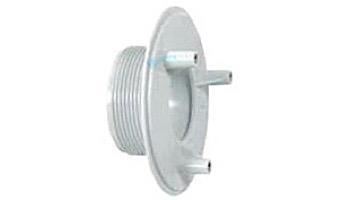 "AquaStar 4"" Sumpless Bulkhead Fitting with 2"" MPT and 1.5"" Slip Socket (VGB Series) | White | 420T15S101"