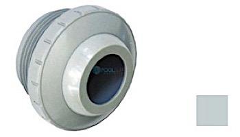 "Aquastar Three Piece Directional Eyeball Fitting | 1-1/2"" MPT | with 1"" Orifice | White | 8101"