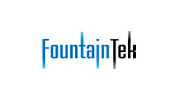 "FountainTek White Nylon Cleaning Brush 26"" Aluminum Back   MA001-26-A"