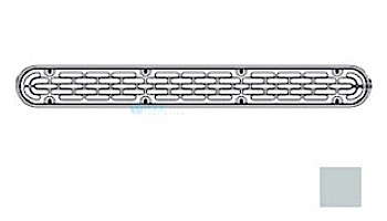 """AquaStar 32"""" Channel Drain Flat Grate Suction Outlet with Screws 