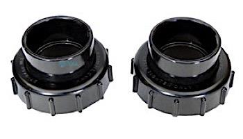 "Pentair Valve, Union, Heater Adapter Kit | Black | 2"" Sockets | 270100"