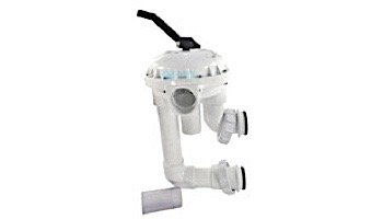 Pentair Hi-Flow Backwash Valve for Side-Mounted Sand and DE Filters | White PVC | 261050