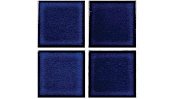 National Pool Tile Marine Field 3x3 Series Pool Tile   Diamond Blue   M332