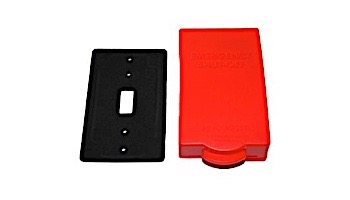 PBS Emergency Shut-Off Swith Cover Plate with Alarm   PBS1002