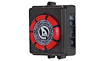 Intermatic 110V 20A 60HZ 7 Day 4 Lug Red Time Clock   PB873-RED