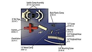 Prozone P15 Venturi Bypass Kit with Saddle Clamps | P15