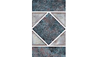 National Pool Tile Dakota Series | Blueberry | DKB350