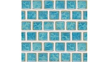 National Pool Tile Mini Koyn Series | Marbleized Royal Blue | MK105