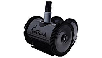Poolvergnuegen PoolCleaner 2-Wheel Suction Side Cleaner | White & Blue | W3PVS20JST