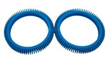 Hayward Poolvergnuegen PoolCleaner 2X & 4X Pool Cleaners Replacement Parts   No Hump Rear Tire   2-Pack   896584000-082