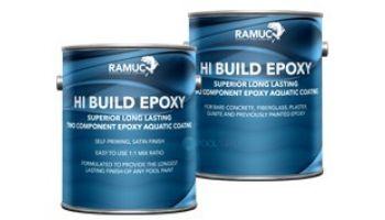 Ramuc Hi-Build Epoxy Premium Pool Paint   2-Gallon Kit   Black   912232102
