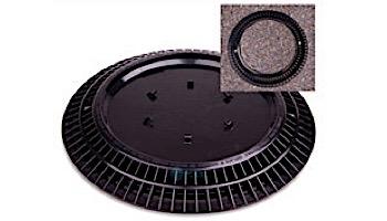 "Color Match 10"" Round VGB Pebble Top Drain Cover   Black   10-PTD-102A"